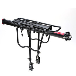 Wholesale Aluminum Trailers - Aluminum Alloy Bicycle Racks Bicycle Luggage Carrier MTB Bicycle Mountain Bike Road Bike Rear Rack Install Component Free Shipping