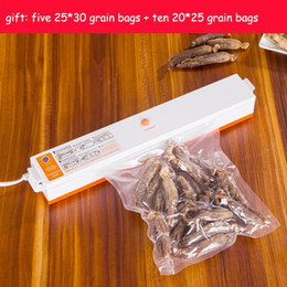 Wholesale Quality Fast Food - High quality and practical Fast Shipping 220V 110V Automatic Electric Food Vacuum Sealer Portable Household Vacuum Packing Machine