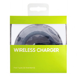 Wholesale Usb Device Chargers - Wireless Charger Pad For Samsung Galaxy S7 S6 Edge S8 QI Wireless Charging Pad With USB Cable For All Qi-Enabled Devices DHL Free Shipping