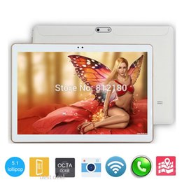 Wholesale Mid Tablet Dhl - Wholesale- DHL Free Shipping Android 5.1 OS 3G 4G LTE 10 inch tablet pc Octa Core 4GB RAM 32GB ROM 1280*800 IPS Kids MID Tablets 10 10.1