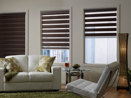 Wholesale Make Installation - Wholesale-Free shipping Blackout roller zebra blinds made to measure