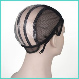 Wholesale Tools For Making Wigs - Wig caps for making wigs stretch lace weaving cap adjustable straps back human extensions wig tools ZA2334