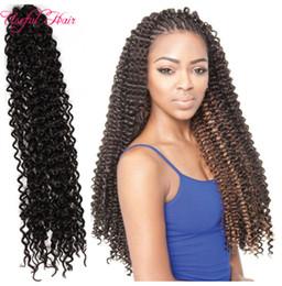 Wholesale Synthetic Water Wave - Freetress synthetic hair braided cap jumbo braids Free tress water wave,crochet hair extensions bulks,crochet braids freetress hair
