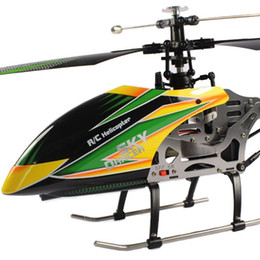 Wholesale Remote Control Toy Large Helicopter - Free Shipping WL V912 large alloy 52 cm 2.4G 4CH single-propeller remote control helicopter with gyro RTF outdoor toys VS V911
