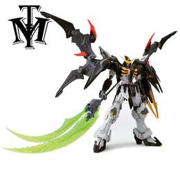 """Wholesale Toy Robot Assemble - Anime Dragon Momoko Endless Waltzl 7"""" MG 1 100 am Deathscythe Hell XXXG-01D2 Model Assemble Action Figure Robot kids Toy"""