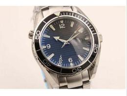 Wholesale Planet Ocean Skyfall - brand watch men Co-Axial planet ocean 600m skyfall automatic mechanical stainless original bracelet watches men business wristwatches G48