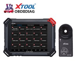 Wholesale Code Reader Reset Odometer - XTOOL Original X100 Pad2   PAd2 Pro Auto Key Programmer with EPB EPS OBD2 Odometer OilRst TPMS X100 PAd 2 Support Multi-languages