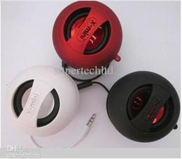 Wholesale X Mini Speaker Colors - Hamburger X-Mini Speaker 4 Colors Portable X-Mini in Stock Free Shipping by DHL
