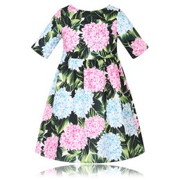 Wholesale Character Costumes For Parties - Girls Summer Dress Tunic 2017 Brand Vestido Infantil Character Kids Birthday Party Dress Princess Costume for Children Clothes