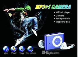 MP3 Player Kamera mit Clip Mini Camcorder Kamera Mini Video Audio Recorder Mini DV DVR Blau / Schwarz 30St von Fabrikanten