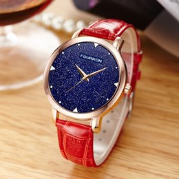 Wholesale Red Star Watches - Brand New of Bright Stars Watch Waterproof Ultra-thin Small Korean Women's Fashion Simple Students Ladies Watch