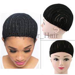 Wholesale Cheap Lace Wig Wholesalers - Crochet Braids Hair Wig Lace Cap Cheap Crochet Wig Lace Caps Easy Sew in Cornrows Cap Crochet Braids Glueless Caps