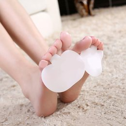 Wholesale Silicone Gel Ball - Clear Silicone Gel Forefoot Metatarsal Ball of Foot Toes Cushion Insoles Orthotics Pads