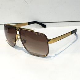 Wholesale Brown Steampunk - Luxury Retro 9913 Sunglasses Men Designer He Rimless Frame Gold Plated Square Frame Retro Steampunk Style UV400 Lens Come With Original Case