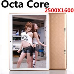 Wholesale Dual Sim Slim - NEW 9.7 inch 8 core Tablet PC Octa Cores 2560*1600 IPS DDR 4GB ram 64GB 8.0MP WIFI 4G Dual sim card Wcdma+GSM Tablets pcs Android 5.1 OTG