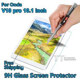 Protector de pantalla de cristal al por mayor 9H para Onda V10 pro V10pro 10.1