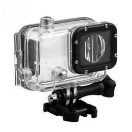Wholesale underwater waterproof camera - Wholesale- 30M Waterproof Protecting Cover Case Housing Underwater Diving Protector for GitUp Git1 Git2 Sports Camera