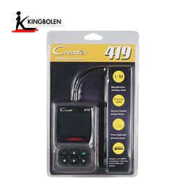 Wholesale Vw Audi Seat Skoda - Launch CReader 419 CR419 OBD2 OBDII Code Reader with Manufacturer Specific DTCs Multilingual Better than AL319 same Launch Creader 4001