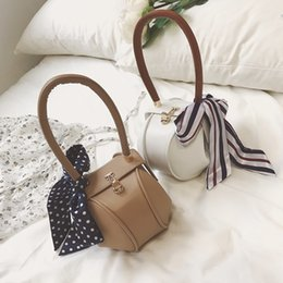 Wholesale Plain Scarve - Fashion handbag with scarve style, vogue clutch bag, western style shoulder bag, characteristic lady bag for elegant life