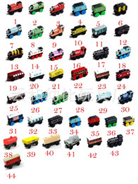 Wholesale Wooden Car Toys - Free DHLTrain Car wooden Complete set of car toy train toys (number 1~74 style) baby toys
