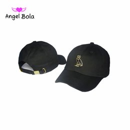 Wholesale Snapback Owl - 2017new fashion lucky owl baseball cap snapback hats and caps for men women brand sports hip hop flat sun hat bone gorras AB-051