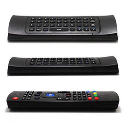 Wholesale Usb Wireless Keyboard Receiver - Wireless Mini Keyboard MX3 Fly Air Mouse Smart TV Remote Control USB Receiver for Android TV Box A95X X92 HTPC IPTV Mini PC Xbox