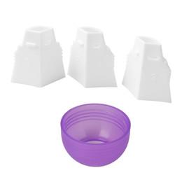 Convertitore dell'ugello del bigné del convertitore della miscela della glassa di 3 colori del convertitore della miscela dei 3 fori per il convertitore dell'ugello del bigné da