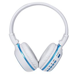 Wholesale Bluetooth Headset Display - Bluetooth V4.0 Headphones LED Display Screen Wireless Stereo Sports headset with Microphone FM Radio TF Card Slot
