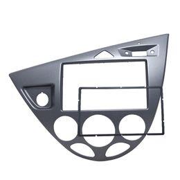 Wholesale Stereo Ford Fiesta - FEELDO Gray Car 2DIN Stereo Panel Fascia Radio Refitting Dash Trim Kit For Ford Focus 98~04(LHD) Fiesta 95~01(LHD) #5054