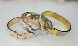 Wholesale 18k Korean Bracelet - 2017 New 18K Gold Bracelets & Bangles Korean Style Love Bracelet Charms Prom Fashion Fine Jewelry