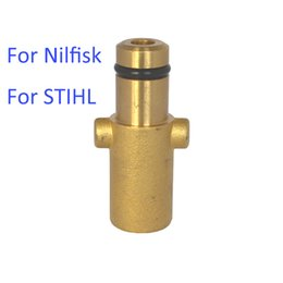 Wholesale foam nozzle - Wholesale-Adapter for Foam Generator   Foam Nozzle   Foam Gun   High Pressure Soap Foamer for NILFISK & STIHLE High Pressure Washer