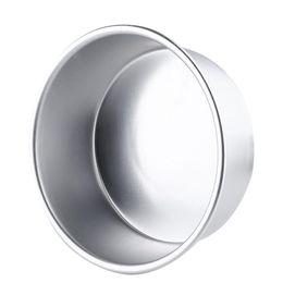 "Wholesale Wholesale Aluminum Trays - Wholesale- 8"" Aluminum Alloy Round Cake Baking Mould Pan Tin Mold Tray Bakeware Tool high quality"