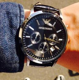 2019 marcas de relógios famosos Hot Moda Estilo Watch Men 2018 Top Marca de Luxo Famosa Pulseira de Couro Relógio Masculino Relógio Militar Casual de Quartzo-Relógio de Pulso para homens marcas de relógios famosos barato