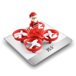 Wholesale helicopter rtf - JJRC H67 Flying Santa Claus RC Helicopter 2.4G 4CH 6Axis 716 Coreless Motor Headless Mode Toy Brick RC Quadcopter RTF