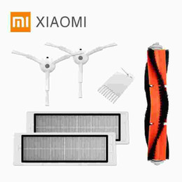 Wholesale Barbecue Cooler - Now Original packaging Part Pack for Xiaomi Robot Vacuum Cleaner Spare Parts Kits Side Brushes x2 HEPA Filter x2 Roller brush x1
