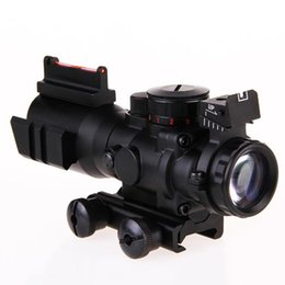 Wholesale Aimpoint For Hunting - Hunting Tactical 4X32 Reflex Optics Riflescope Sight for Gun Rifle Magnifier Aimpoint Scope