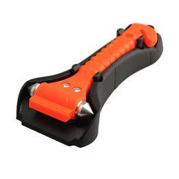 Wholesale Cutter For Car - Wholesale-2 in 1 Emergency Hammer Car Glass Window Breaker Safety Escape Emergency Hammer Seat Belt Cutter Tool For Car