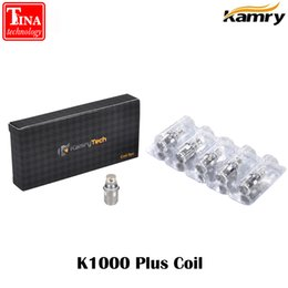 Wholesale X6 Vaporizer - Wholesale- 5cps lot Original Kamry Atomizer Coil Replaceable Sub 0.5ohm X6 Plus Coils K1000 Plus Atomizer E Cigarette Vaporizer Coils