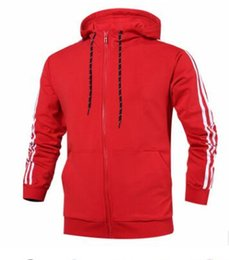 Wholesale Worsted Coat For Women - Jacket for men and women New designer Brand Kanye West A Hip hop sport jacket red big size coat Men's windbreaker D 3XL Outerwear Clothing