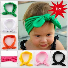 Wholesale Newborn Baby Girl Head Bands - Hair Accessories baby girl turban headband warm headbands hair accessories for newborns hair head bands band hairband kids 10 colors