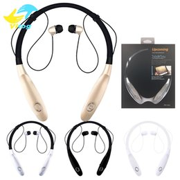 Wholesale Hours Hand - Sport Bluetooth Earphone hbs 900s Portable Headphones 900X Wireless Earbuds Hand Free Headset With Mic last 15 hours V4.2 For Smart Phone