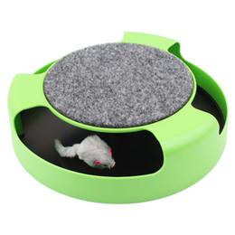 Brinquedo para crianças on-line-Brinquedo Do Gato Produtos para Animais de Estimação Gatinho Brinquedos Com O Movimento Do Mouse Dentro Roped Engraçado Do Rato Do Falso Tocar Brinquedos Gatos Para Crianças Gato Frete Grátis
