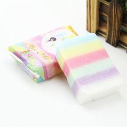 Wholesale Fern Soap - Brand New fern soap Arrivals OMO White Plus Soap Mix Color Plus Five Bleached White Skin 100% Gluta Rainbow Soap DHL