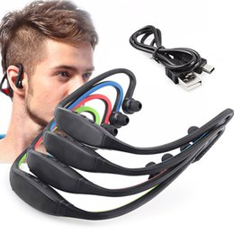 Wholesale Brands Speaker - Headphone S9 Wireless Stereo Headset Sports Bluetooth Speaker Neckband Earphone Bluetooth 4.0 With Retail Package DHL Free Shipping