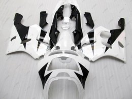 Wholesale 1995 Ninja Fairing Kit - Full Body Kits 636 Zx-6r 96 97 ABS Fairing Ninja Zx-6r 1997 White Black Fairing Kits for Kawasaki Zx6r 1994 1994 - 1997