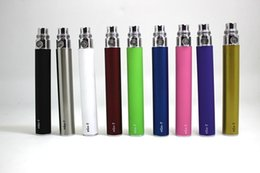 Wholesale Match Free Ego - EGO Battery for Electronic Cigarette E-cig Ego-T 510 Thread match CE4 atomizer CE5 clearomizer CE6 650mah 900mah 1100mah 9 Colors Free