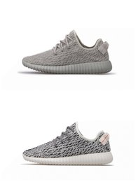Wholesale Canvas Wrestling Shoes - Drop Shipping 350 boost v2 updated version with PU Wide botton Men Women boost 350 Oxford Tan Moonrock Pirate Black Turtle Grey shoe