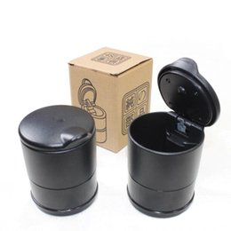 Wholesale Car Cigarette Holders - Wholesale Portable Auto Car Truck LED Cigarette Smoke cigar car Ashtray cinzeiro asbak Ash Cylinder Cup Holder free shipping