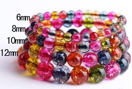 Wholesale Tourmaline Beads Bracelets - Popcorn Tourmaline Stone, Semi Precious Stone Bead Bracelet Mutilcolour Natural Loose Beads Stone Jewelry Strands Wholesale Women Party