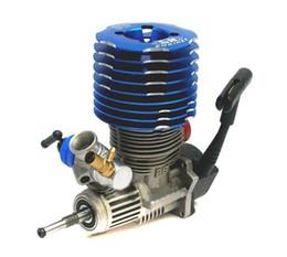 Wholesale Engine Rc Nitro - RC Blue SH 28 engine M28-P3 4.57CC Pull Starter Nitro 1 8 Buggy Monster Truggy